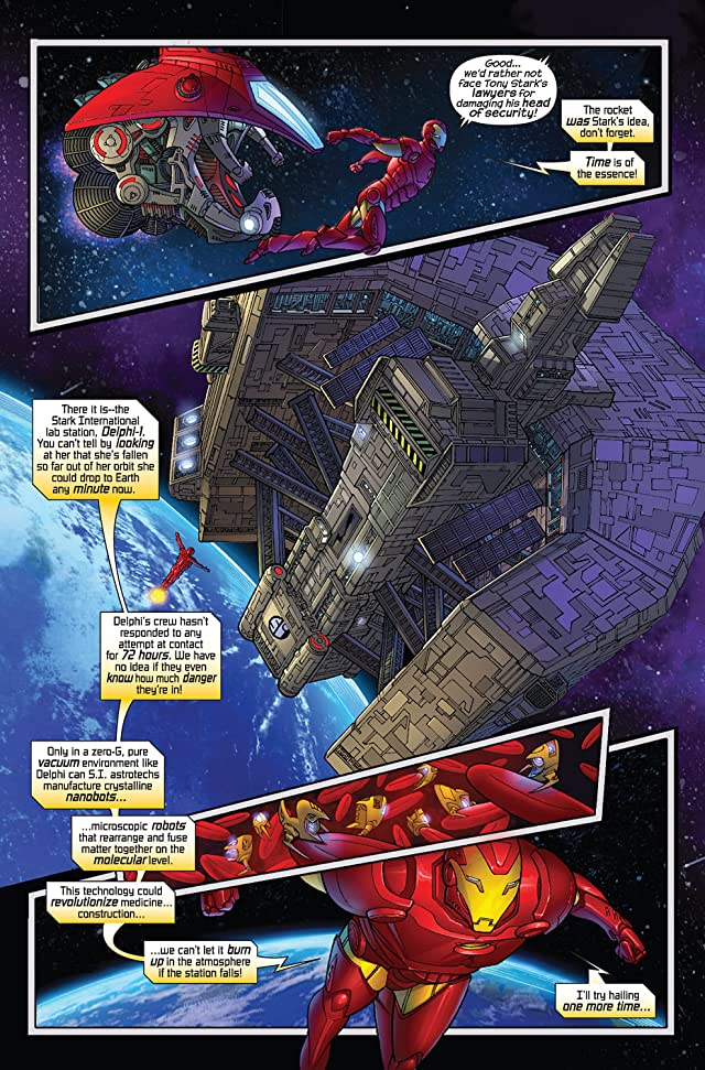click for super-sized previews of Marvel Adventures Iron Man #6