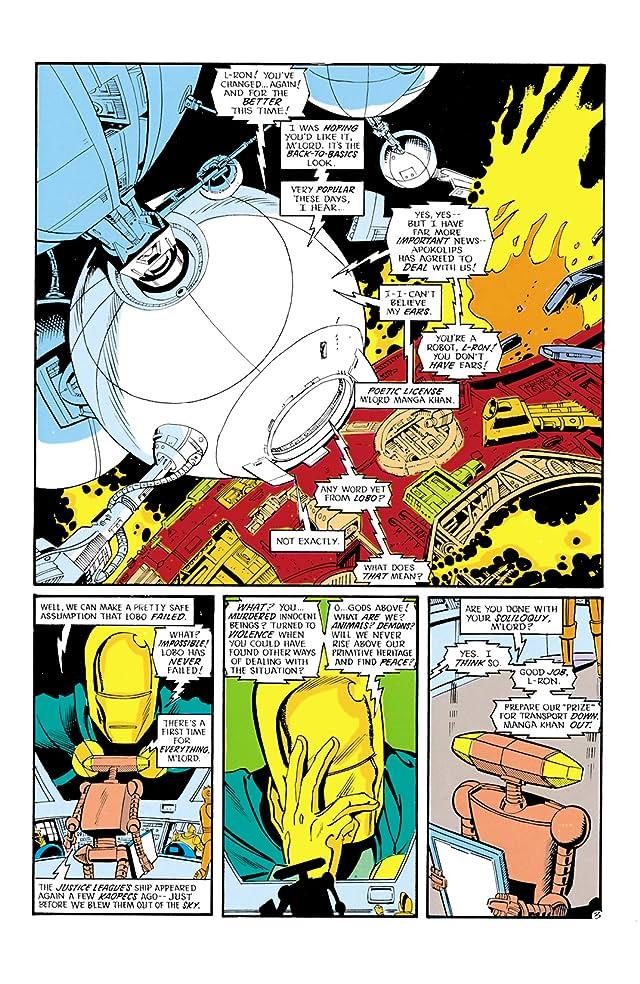 Justice League International (1987-1989) #20