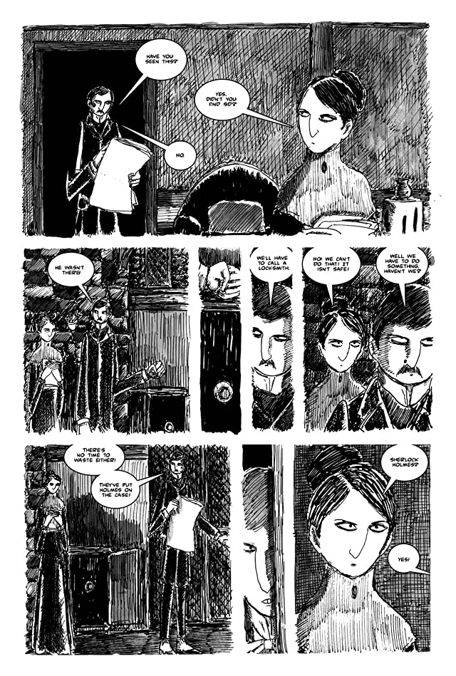 click for super-sized previews of Sherlock Holmes: The Painful Predicament of Alice Faulkner: Preview
