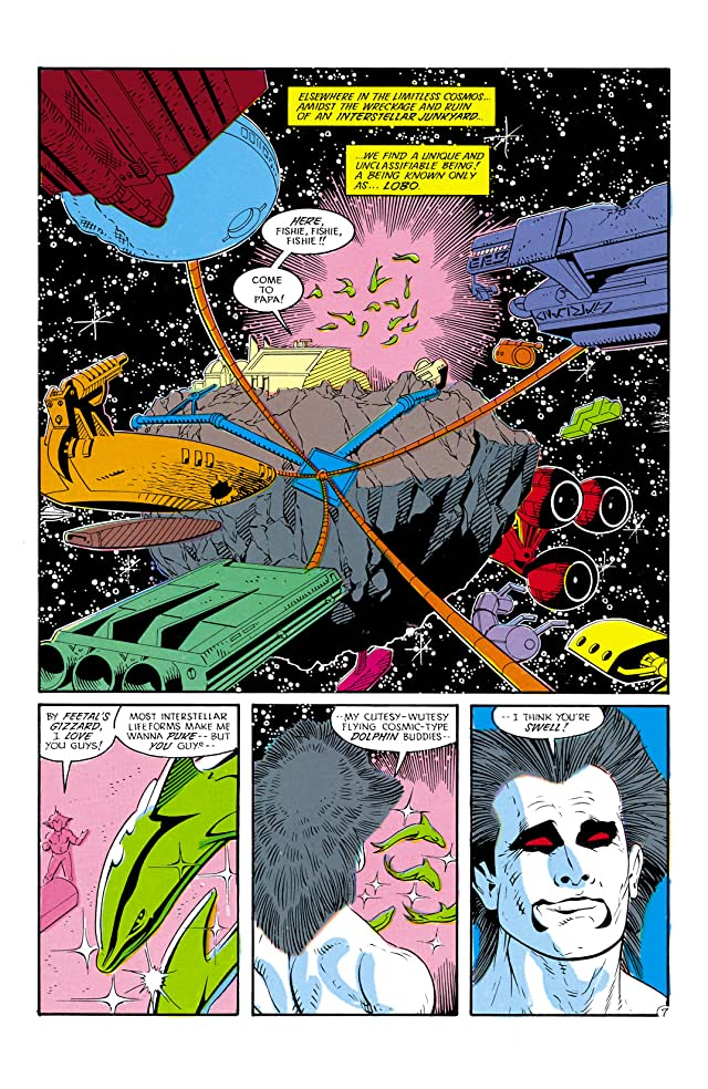 click for super-sized previews of Justice League International (1987-1989) #18