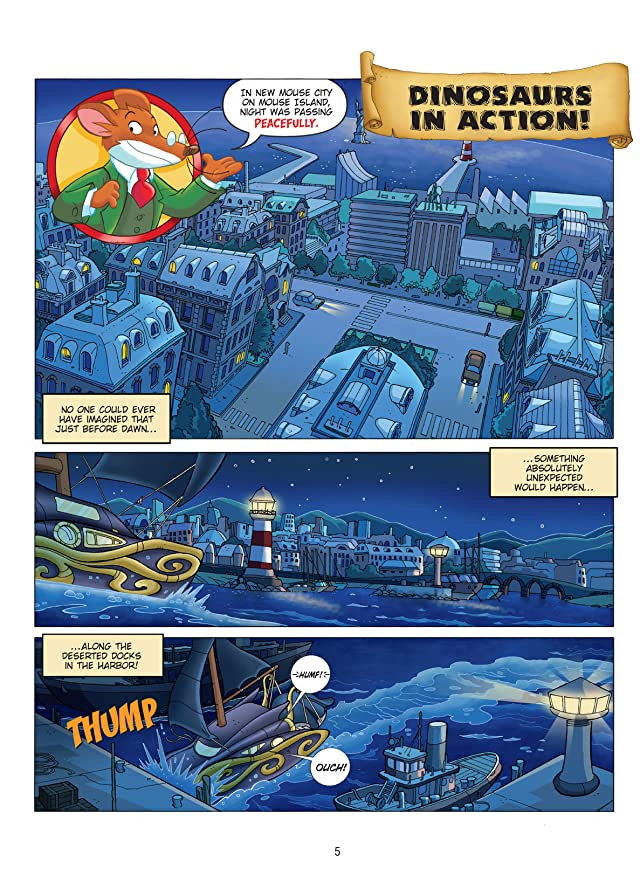 click for super-sized previews of Geronimo Stilton Vol. 7: Dinosaurs In Action