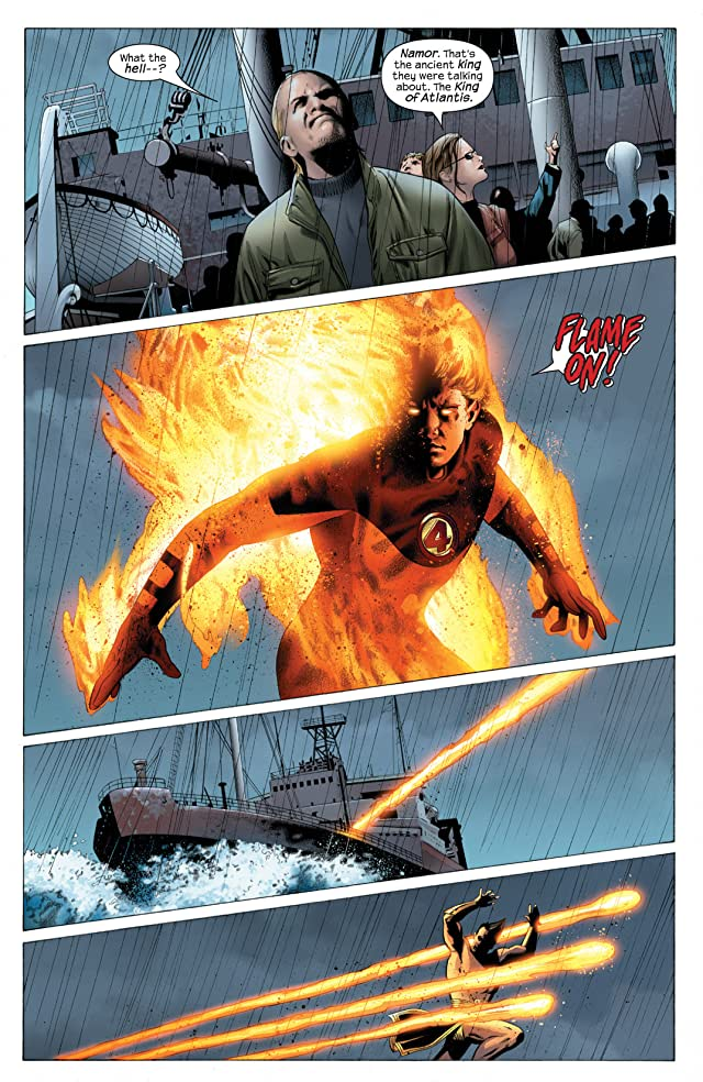 click for super-sized previews of Ultimate Fantastic Four #25