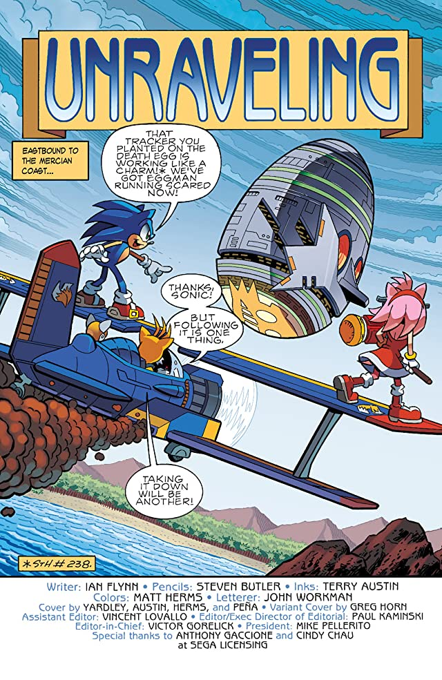 click for super-sized previews of Sonic the Hedgehog #241