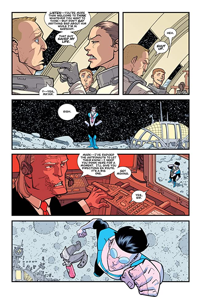 click for super-sized previews of Invincible Vol. 9: Out of This World