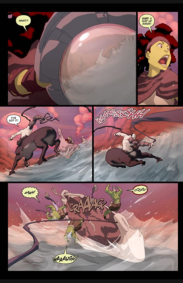 click for super-sized previews of Ray Harryhausen Presents: Sinbad - Rogue of Mars #2