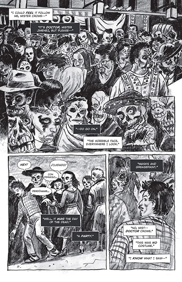 click for super-sized previews of Sparrow and Crowe: Halloween Special