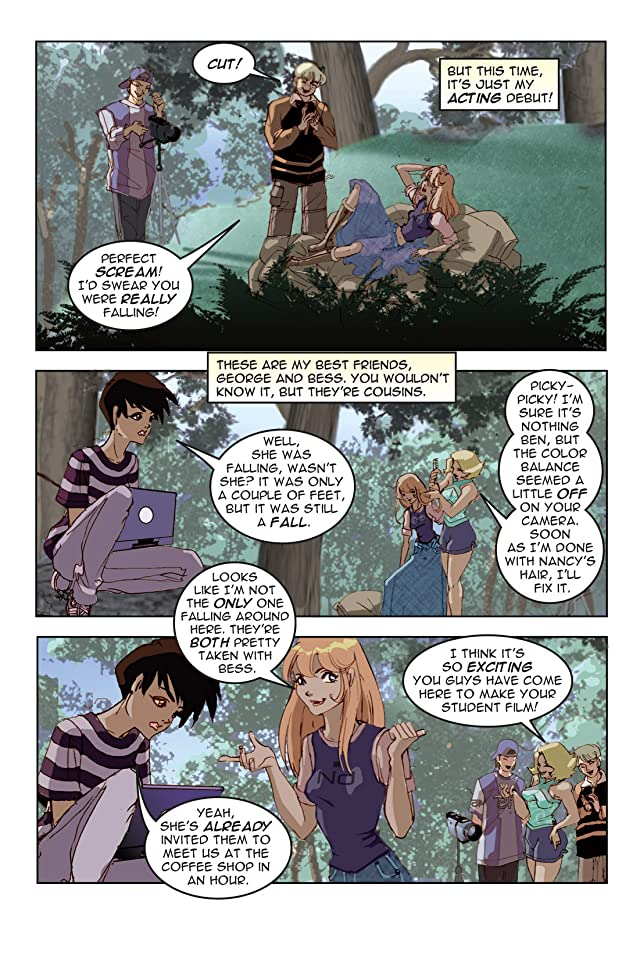 click for super-sized previews of Nancy Drew Vol. 1: The Demon of River Heights - Preview