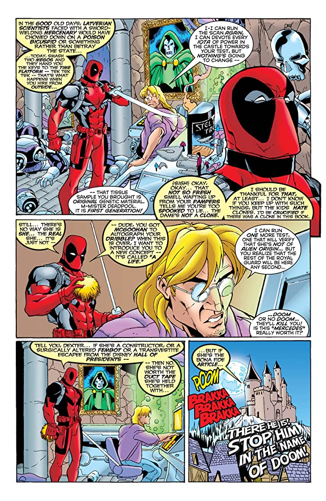 click for super-sized previews of Deadpool (1997-2002) #29