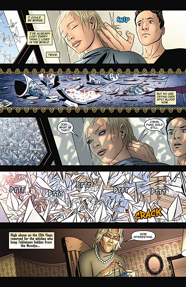 click for super-sized previews of Fairest #8