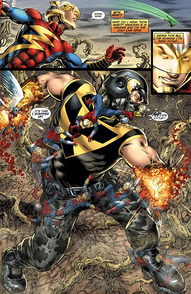 click for super-sized previews of Earth 2 (2012-2015) #5
