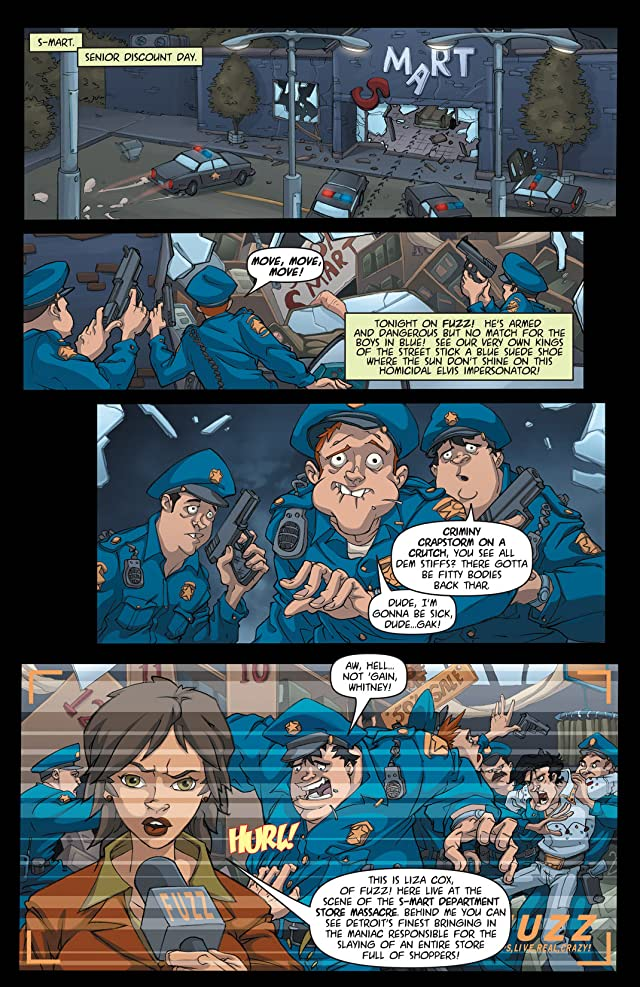click for super-sized previews of Army of Darkness vs. ReAnimator #1