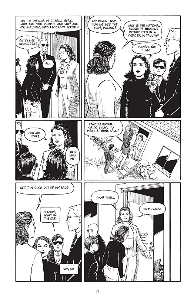 click for super-sized previews of Terry Moore's Echo #4