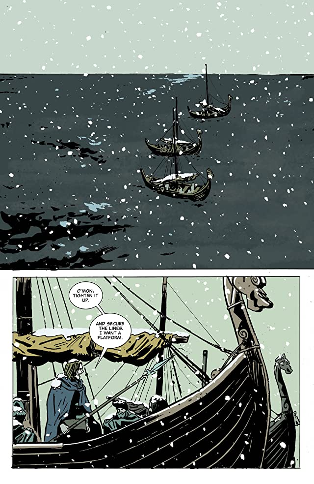 click for super-sized previews of Northlanders #43