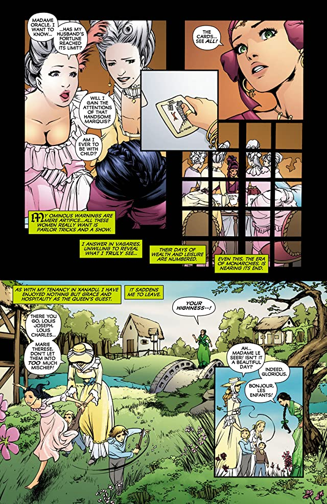 click for super-sized previews of Madame Xanadu (2008-2011) #5