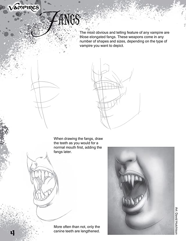 How To Draw Vampires
