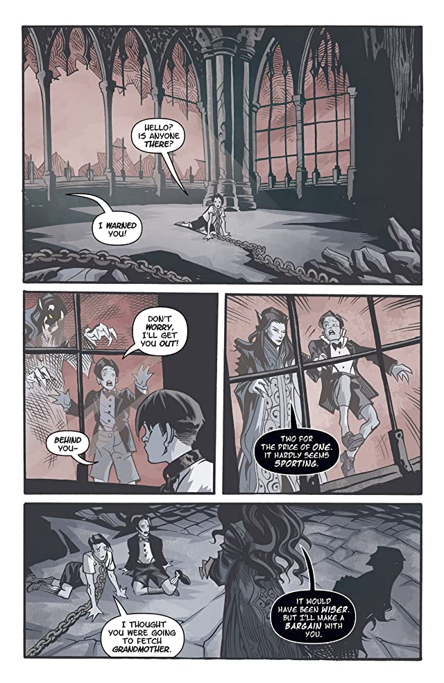click for super-sized previews of Courtney Crumrin: Ongoing #6