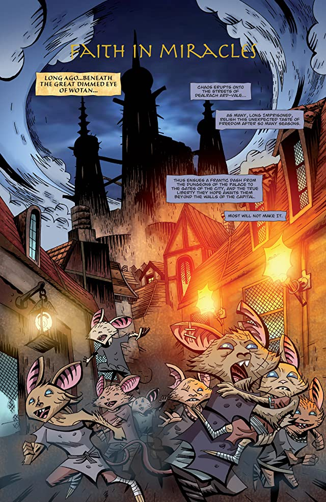 click for super-sized previews of The Mice Templar Vol. 3: A Midwinter Night's Dream