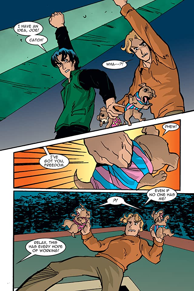 click for super-sized previews of The Hardy Boys Vol. 6: Hyde & Shreik
