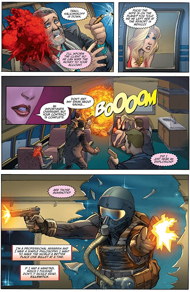 click for super-sized previews of Creator Owned Heroes #5