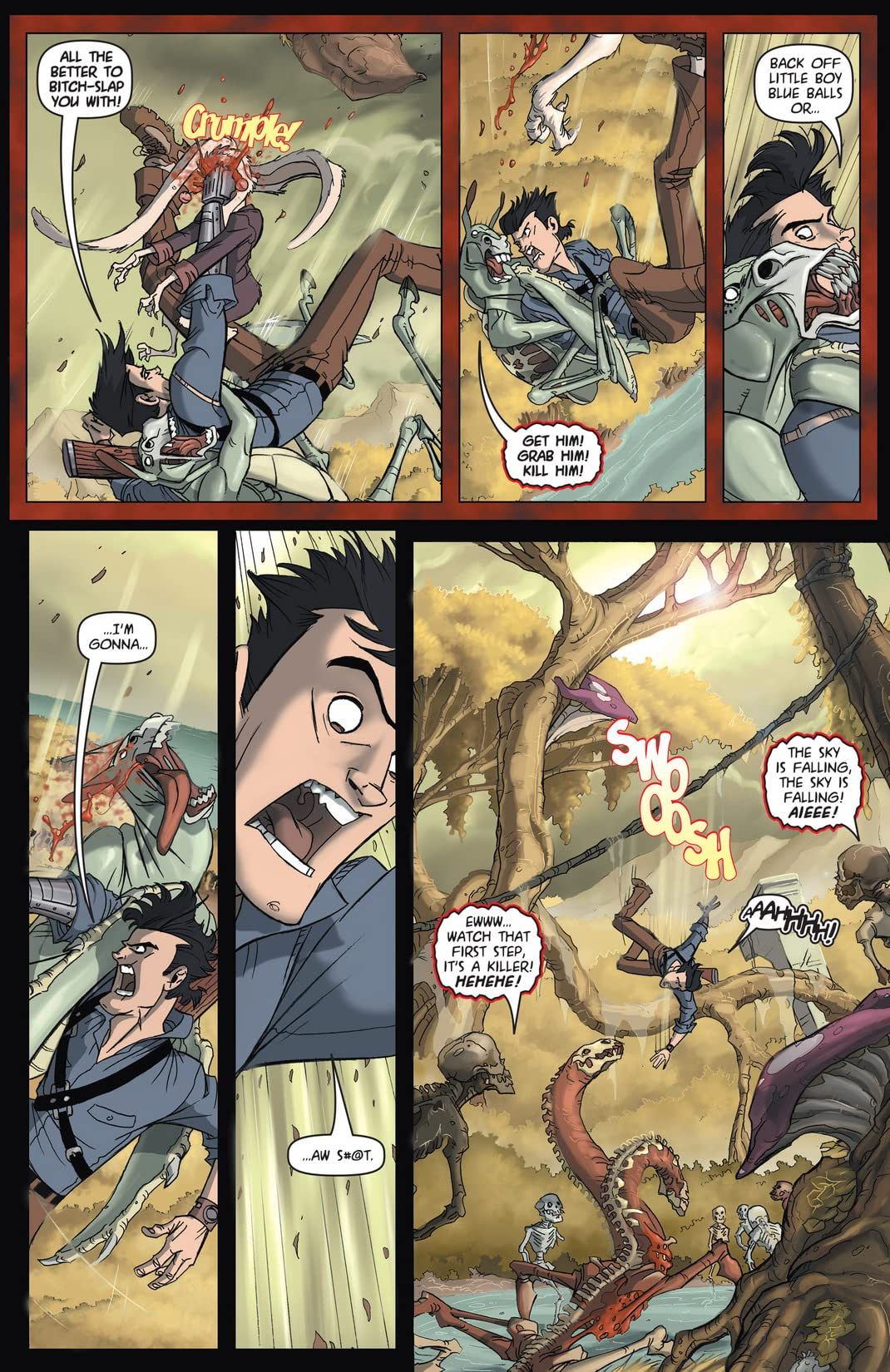 Army of Darkness vs. ReAnimator #3