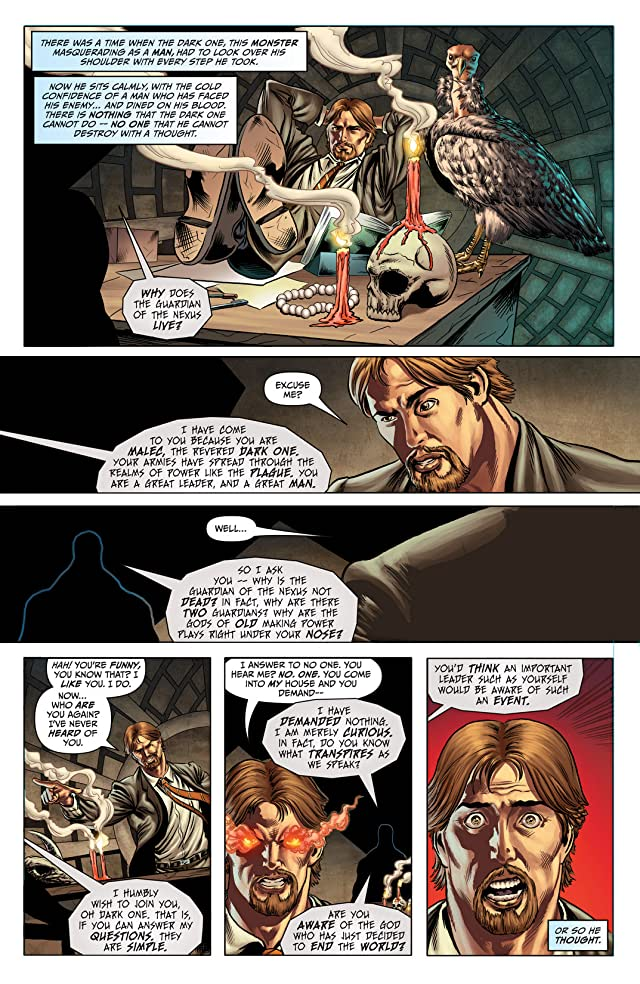 click for super-sized previews of Grimm Universe #1