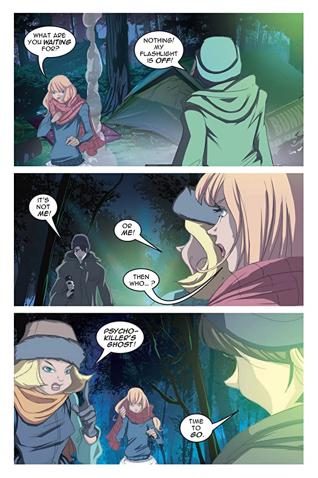 click for super-sized previews of Nancy Drew Vol. 9: Ghost In the Machinery