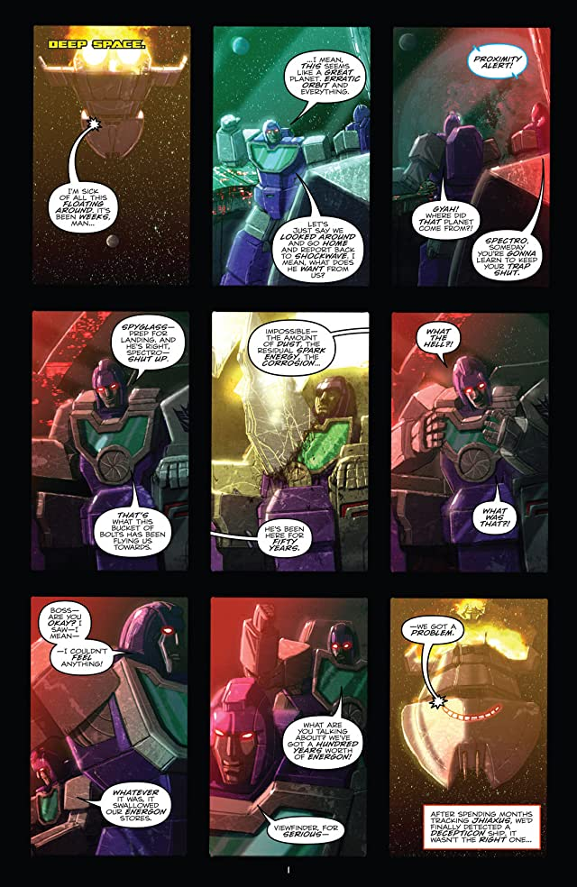 click for super-sized previews of Transformers: Robots In Disguise (2011-) #10