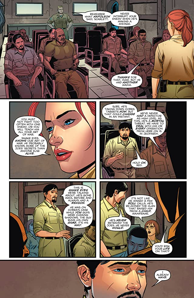 click for super-sized previews of G.I. Joe (2011-2013) #18