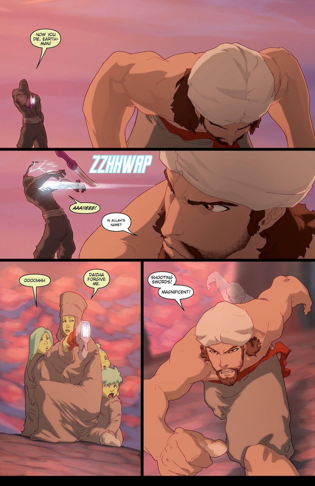 Ray Harryhausen Presents: Sinbad - Rogue of Mars #3