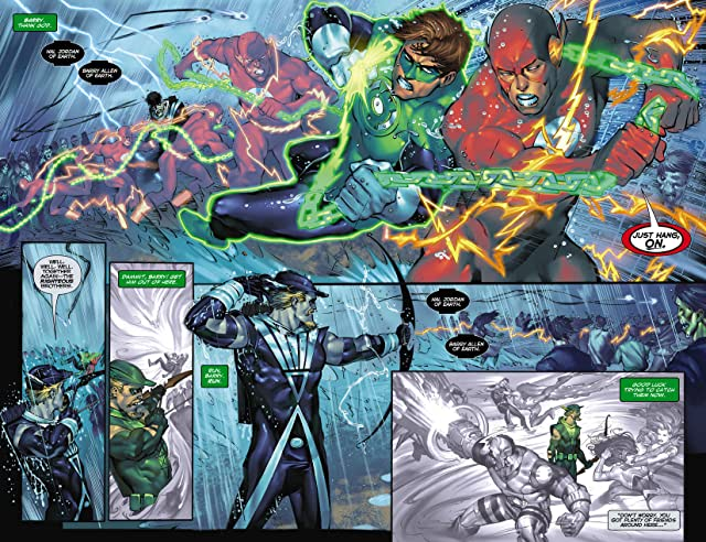 click for super-sized previews of Green Arrow (2007-2010) #30