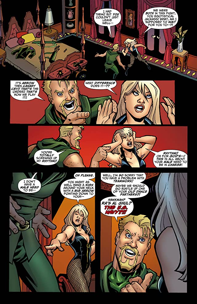 click for super-sized previews of Green Arrow/Black Canary: Wedding Special #1