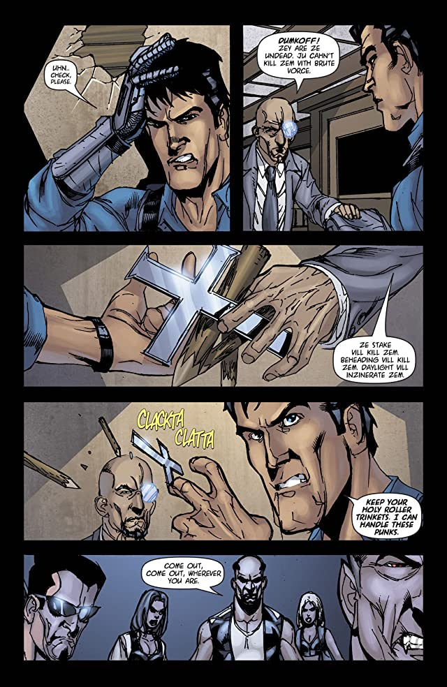 click for super-sized previews of Army of Darkness Vol. 1 #9