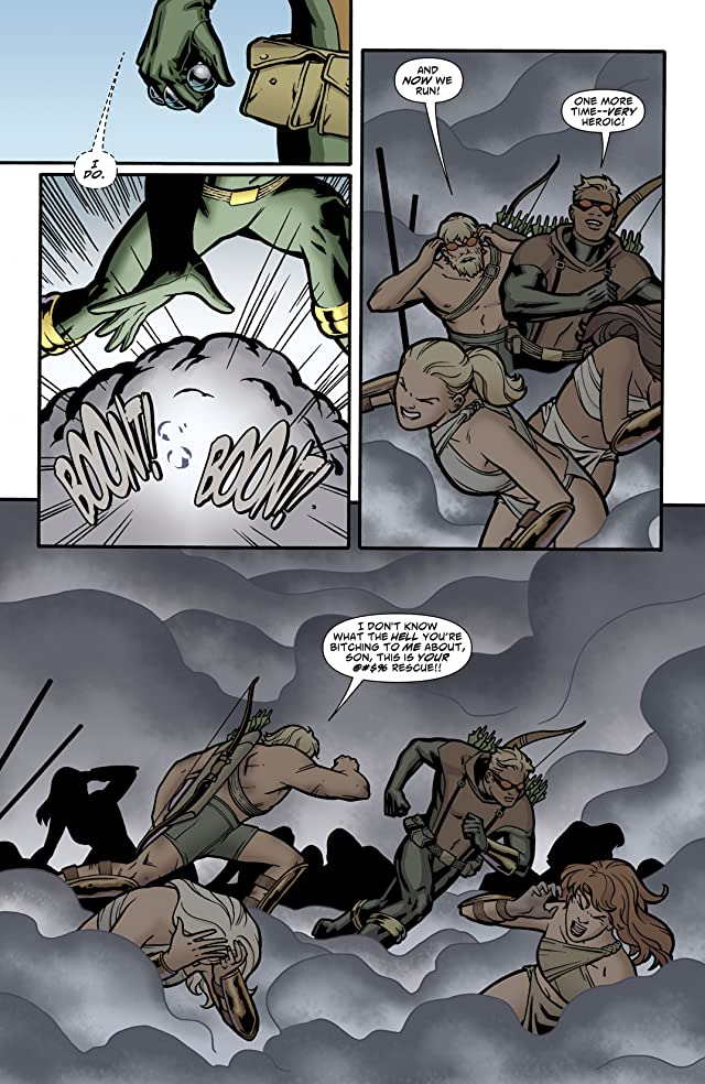 Green Arrow and Black Canary (2007-2010) #3