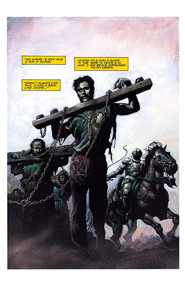 click for super-sized previews of Army of Darkness: Movie Adaptation #1