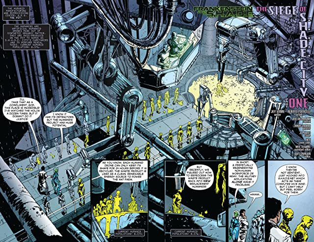 click for super-sized previews of Frankenstein, Agent of SHADE (2011-2013) #6
