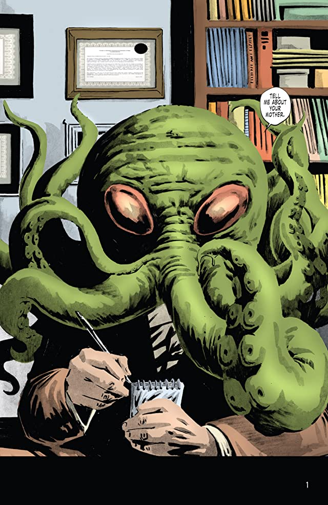 click for super-sized previews of Cthulhu Tales Omnibus: Delirium