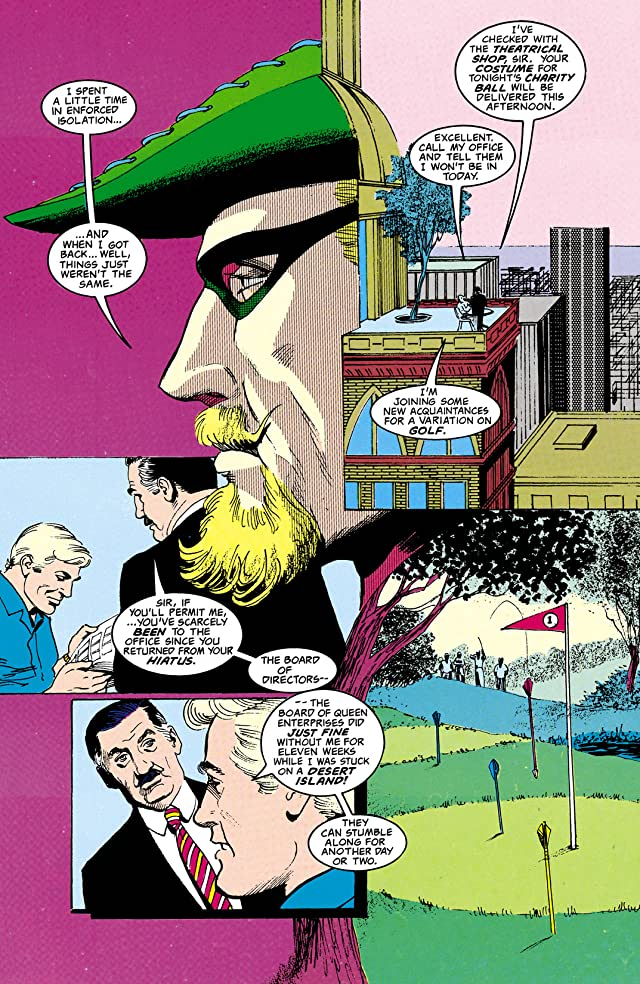 click for super-sized previews of Green Arrow: The Wonder Year (1993) #2