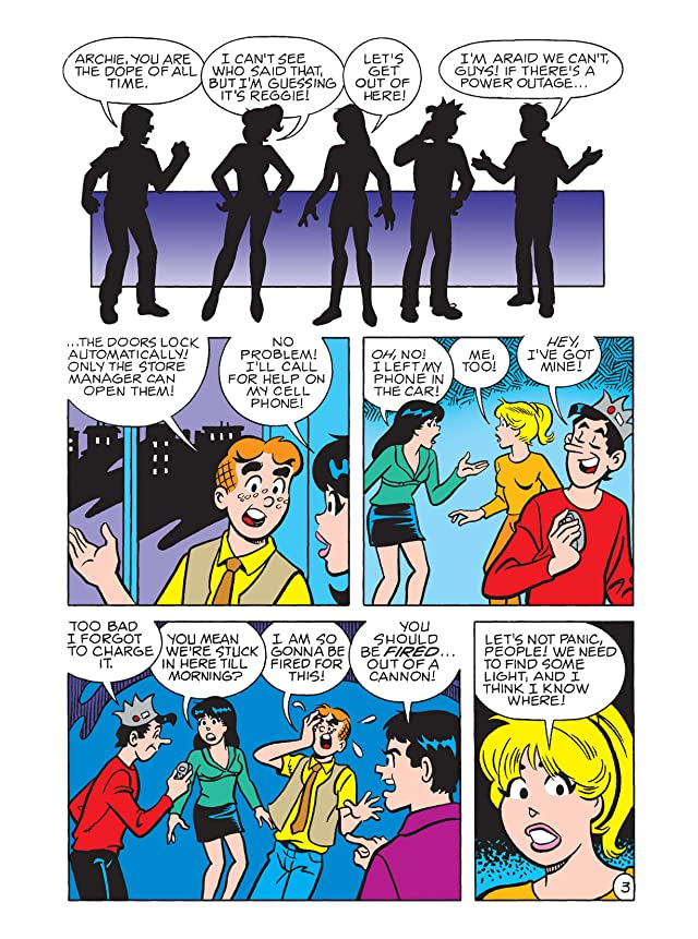click for super-sized previews of Archie Double Digest #178