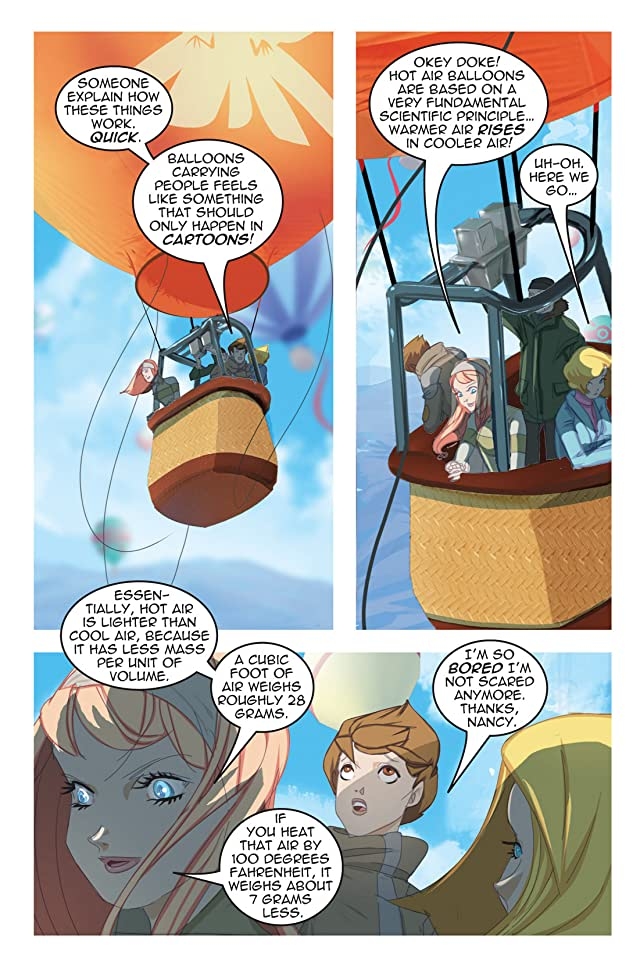 Nancy Drew Vol. 16: What Goes Up