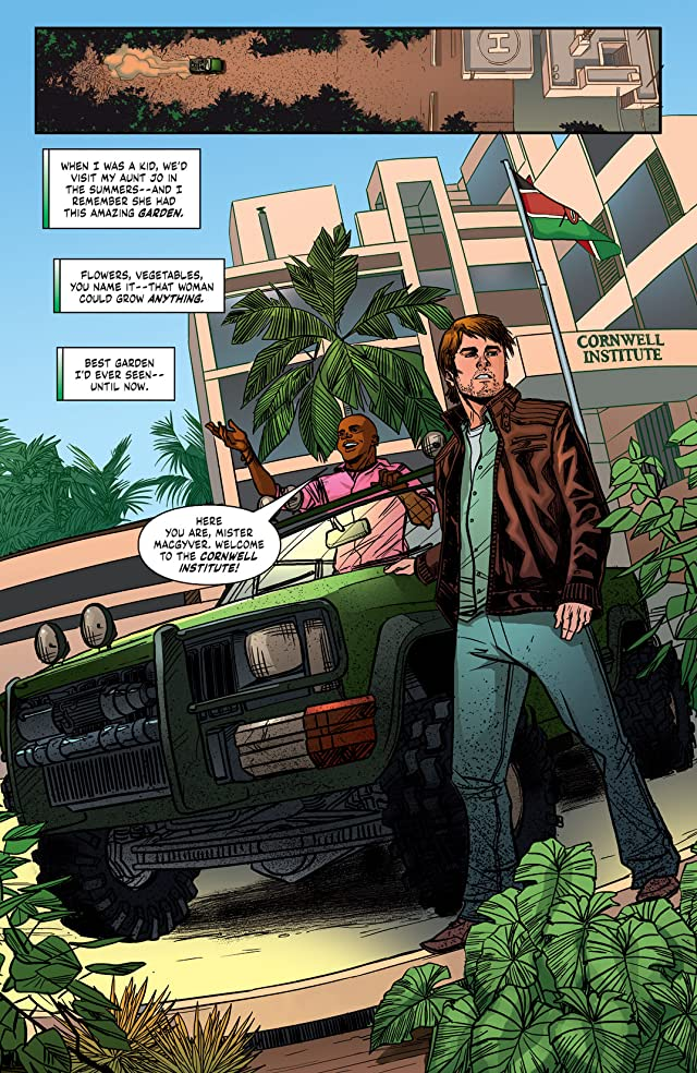 click for super-sized previews of MacGyver: Fugitive Gauntlet #1 (of 5)