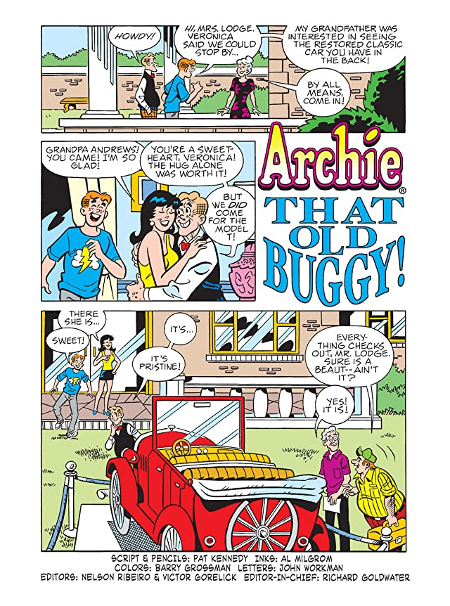 click for super-sized previews of Archie Digest #239
