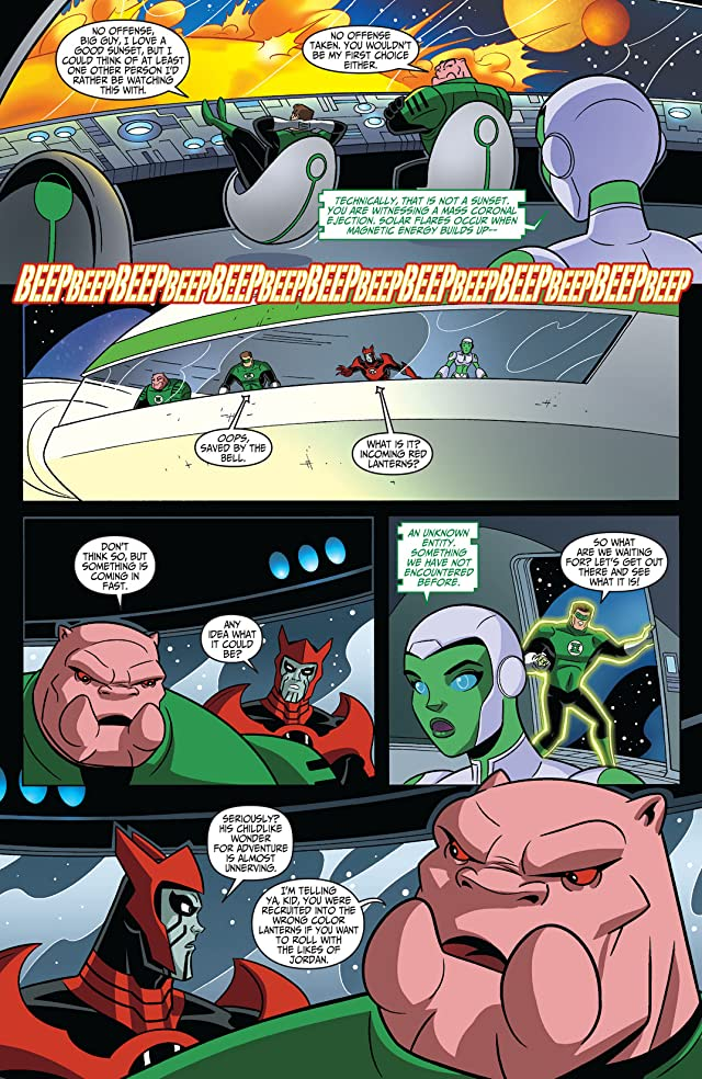 click for super-sized previews of Green Lantern: The Animated Series #7