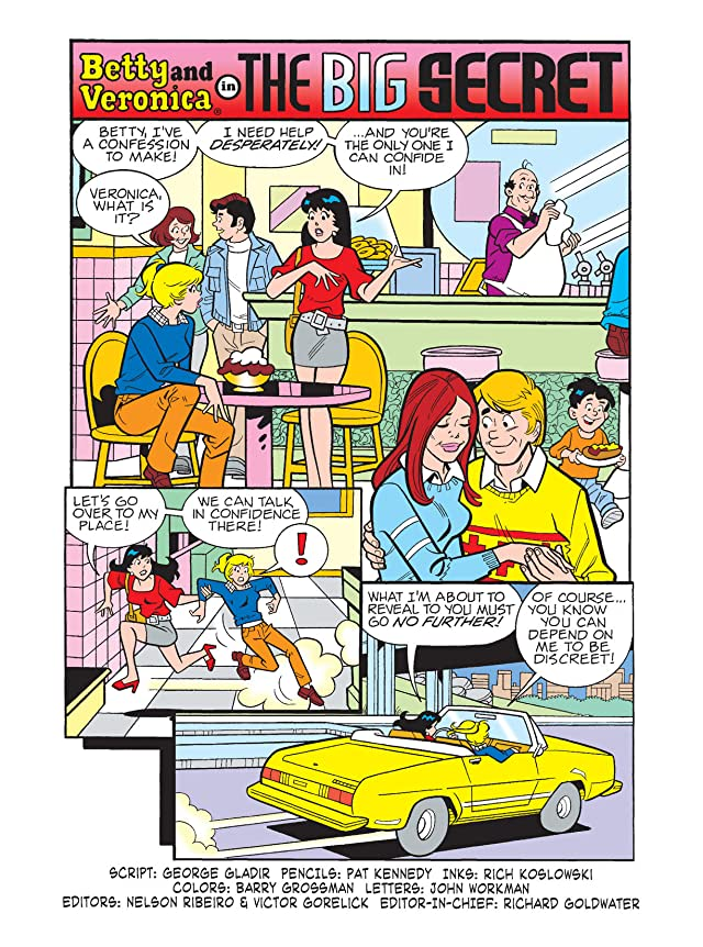 click for super-sized previews of Betty & Veronica Digest #178