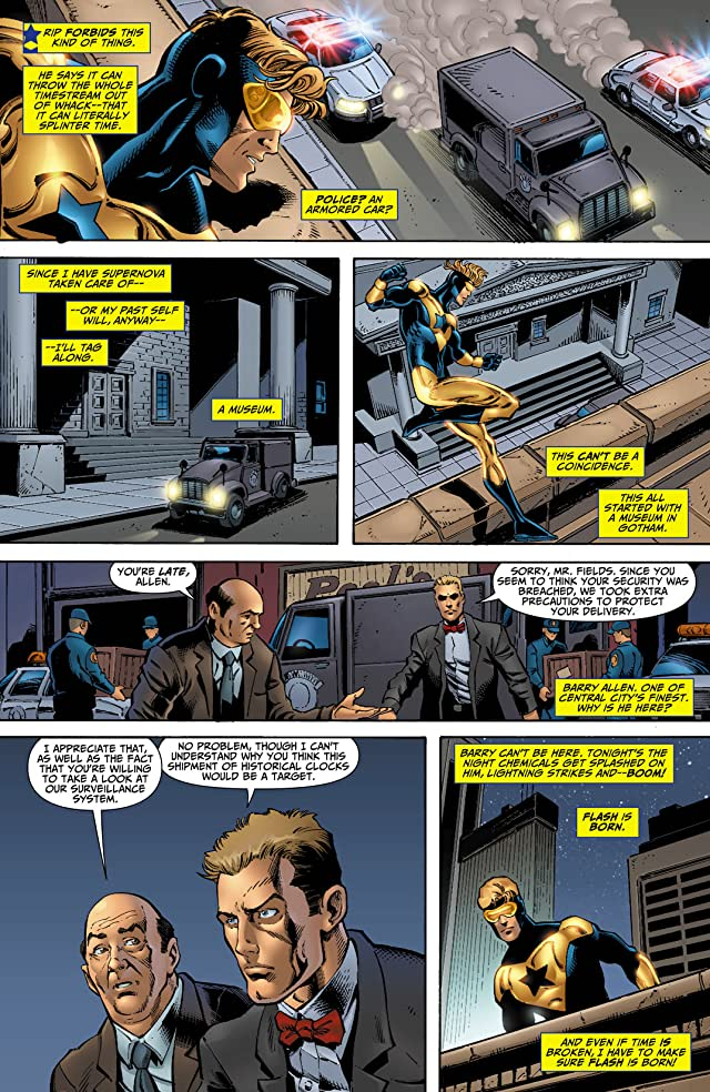 click for super-sized previews of Booster Gold (2007-2011) #17