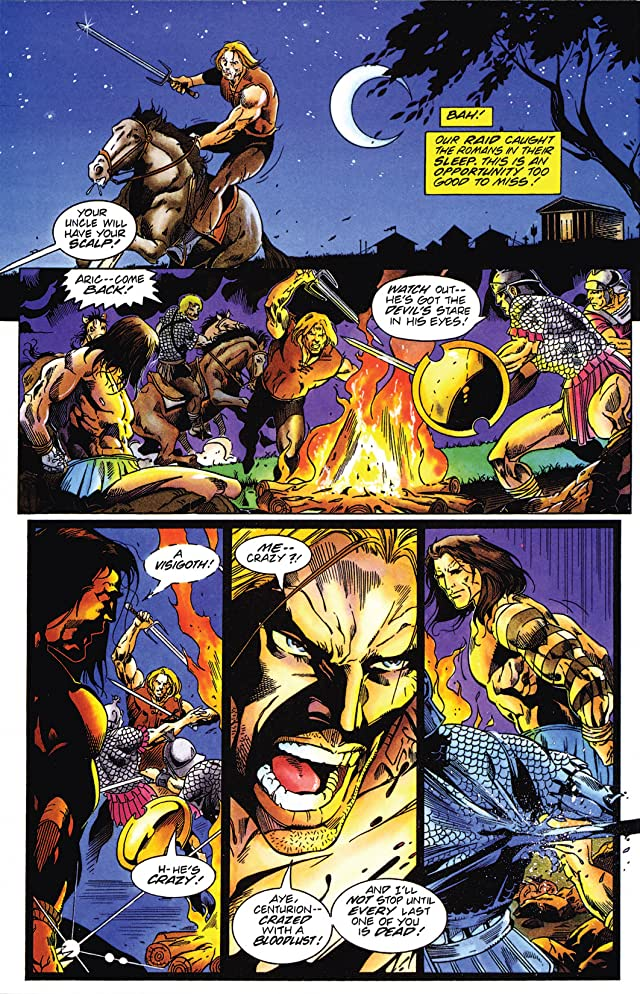 click for super-sized previews of X-O Manowar (1992-1996): Yearbook