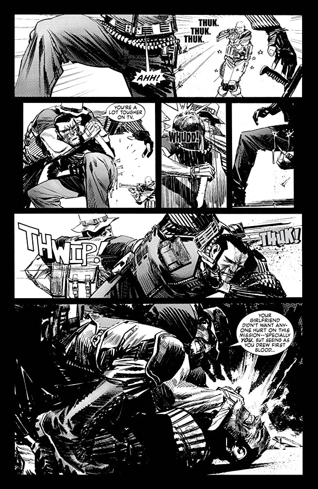 click for super-sized previews of Punk Rock Jesus #4 (of 6)