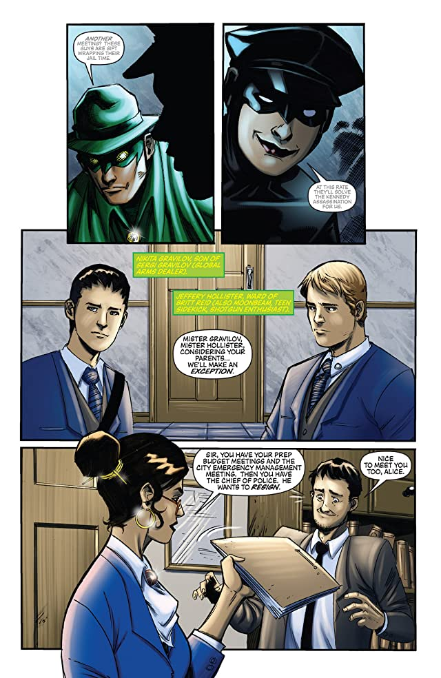 click for super-sized previews of Green Hornet #29