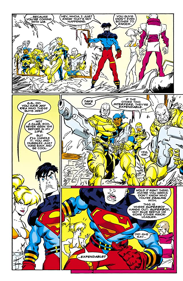 click for super-sized previews of Superboy (1994-2002) #35