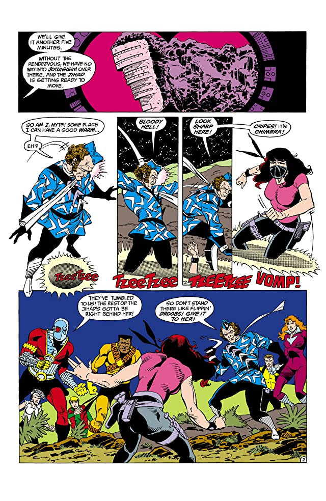 click for super-sized previews of Suicide Squad (1987-1992) #2