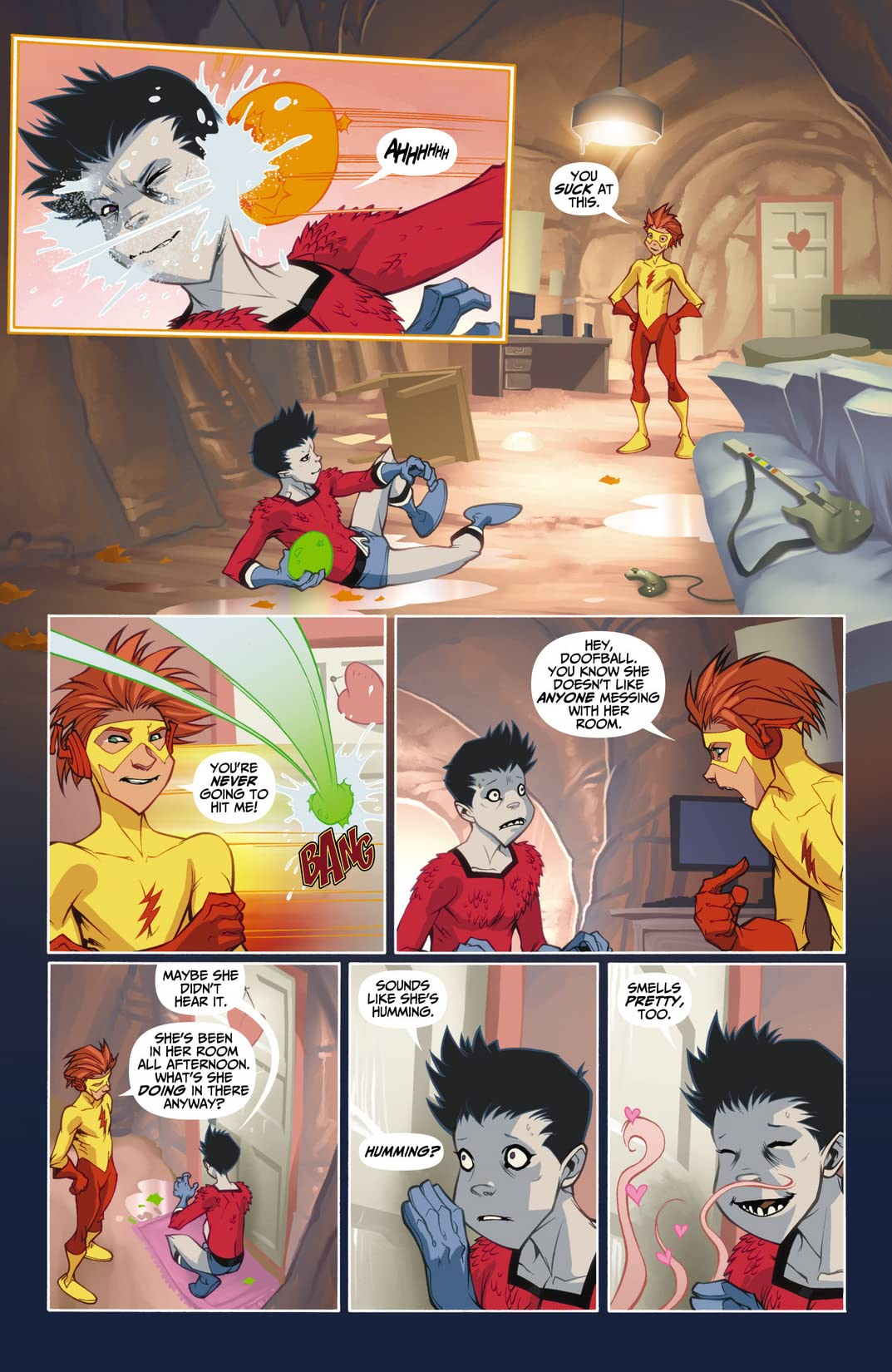 Teen Titans: Year One #5 (of 6)